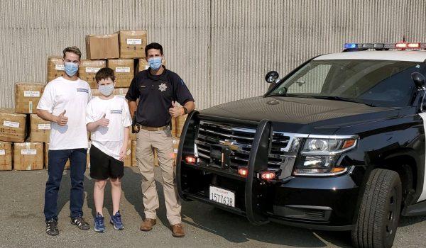 Bobby's Brigade donates 70,000 masks